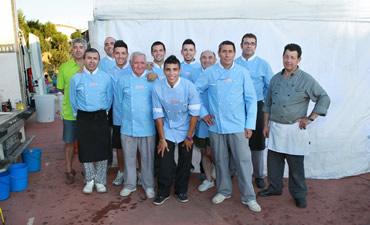 equipo_comidas_populares_en_evento