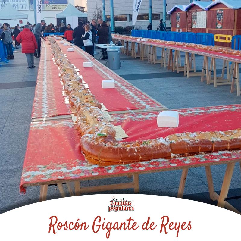 Roscón de Reyes hecho por Comidas Populares en Madrid