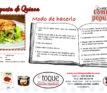 Receta de Catering: Hamburguesa de Quinoa